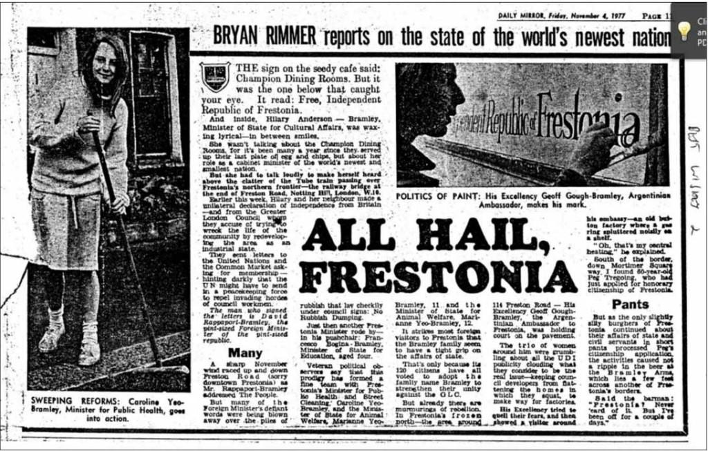 All Hail Frestonia