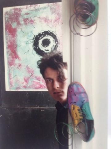 "Giles Leaman Carbreakers Art Gallery, ""Freestonia"", 1980"