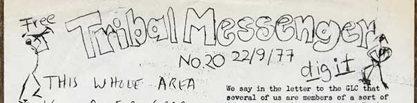 Tribal Messenger, No. 20, 22/09/1977