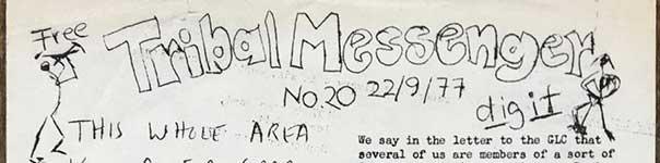 Tribal Messenger, No. 20, 22/09/1977